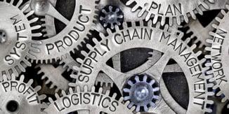 Metal wheel supply chain concept