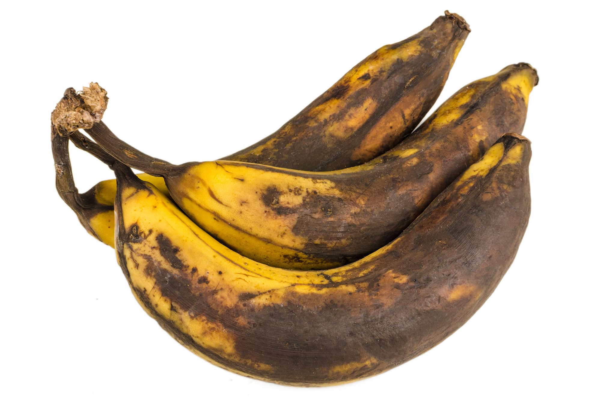 Example of food waste - over ripe bananas